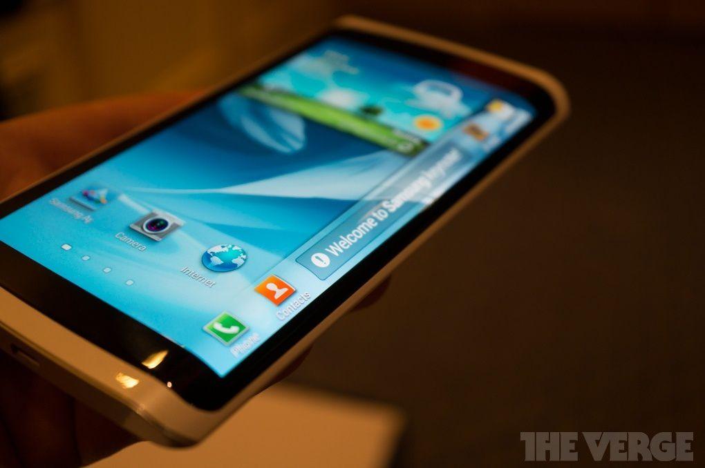 Samsung :  prototype avec écran OLED flexible [ComingSoon]