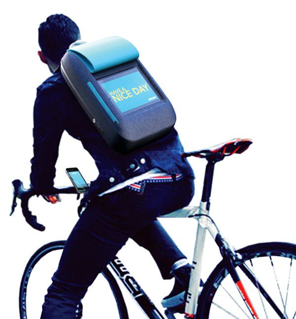 iBackpack : sauvons les cyclistes [concept]