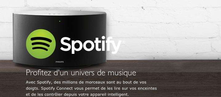 Philips : le multi-rooming et le streaming facile avec Spotify [musique2.0]