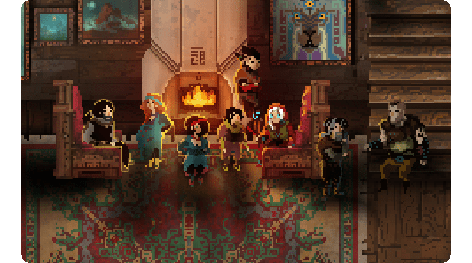 Children of Morta : hack n'pixels [kickstarted]