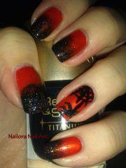 nail art happy halloween