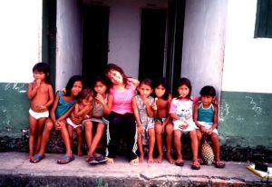 Raffaella Ponzo in Amazzonia