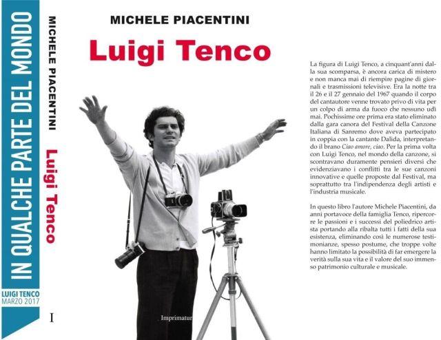 Il libro di Michele Piacentini dedicato a Luigi Tenco