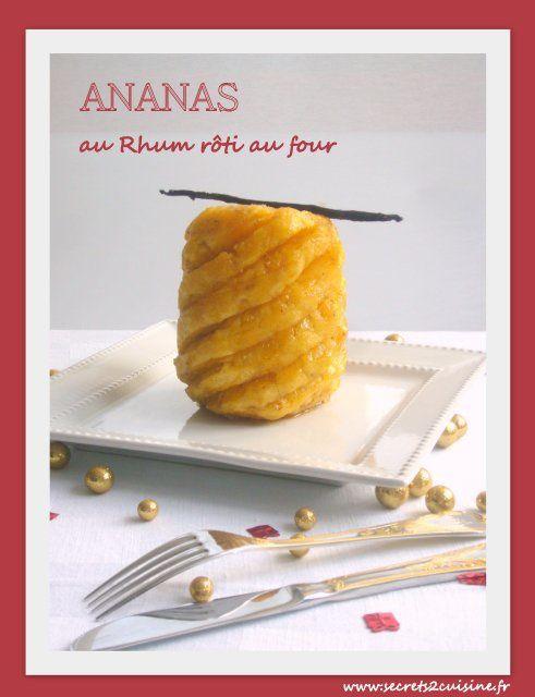 Ananas Roti Au Four : ananas, Ananas, Rôti, Secrets, Cuisine, Christine