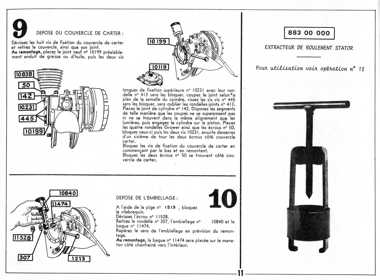Tutoriel démonter et remonter un moteur de solex