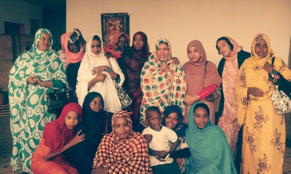 Séance « Voix des femmes » avec la sociologue Mariem Mint Baba Ahmed, le 6 décembre 2015 dans la commune de Tevragh-Zeina (Nouakchott).
