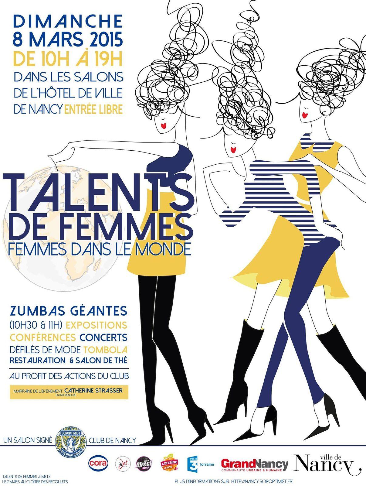 Talents De Femme Laffiche Isabelle Haury