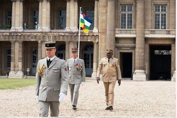 COOPÉRATION MILITAIRE FRANCE CENTRAFRIQUE