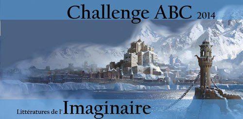 Lu aussi dans le cadre du Challenge ABC de l'imaginaire 2014