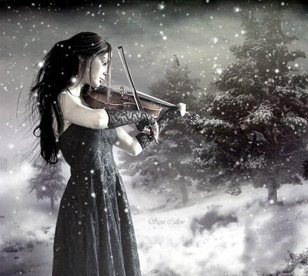 Les musiciennes...