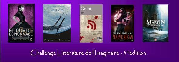 Lu dans le cadre du challenge Littérature de l'imaginaire 2015