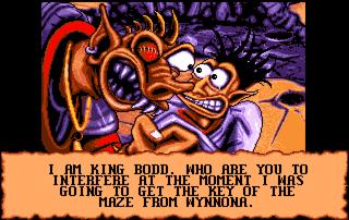 Une image de Goblins 3, mon jeu favori à l'époque ^^ C'est encore un bon exemple de mes mauvais goûts en matière de garçons... Après Maître Splinter, je vous présente Blount, le héros du jeu... Oui, c'est un Goblin, je sais... Oui, il est moche, accessoirement... Mais surtout, c'est un PUTAIN DE PERSONNAGE DE JEU VIDEO!!! Mais qu'est-ce qui ne tournait pas rond, chez moi? Après ça, je me suis améliorée... Je suis passée à Luke Skywalker XD Hé ho! Pas de moqueries, hein! J'aurais tout aussi bien pu choisir Yoda...