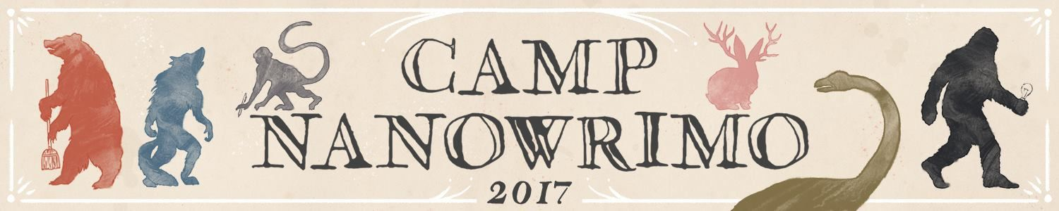 [Écriture] Camp NaNoWriMo d'avril 2017 - Semaine 1