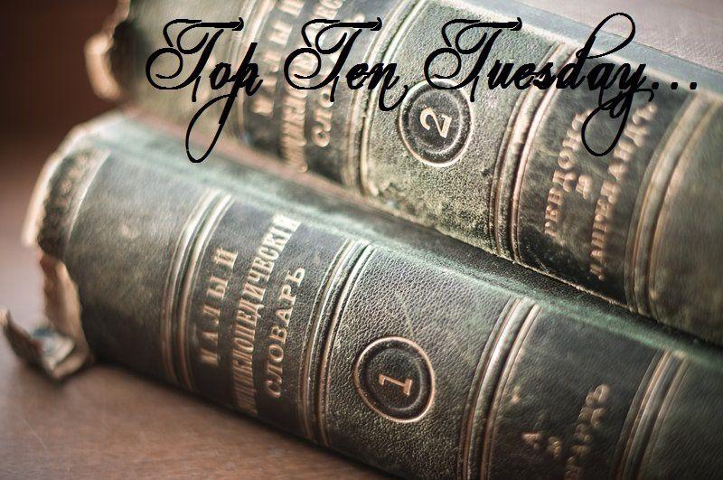 Top Ten Tuesday #38