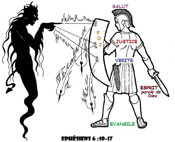 Résultat d'images pour esprit du mal satan