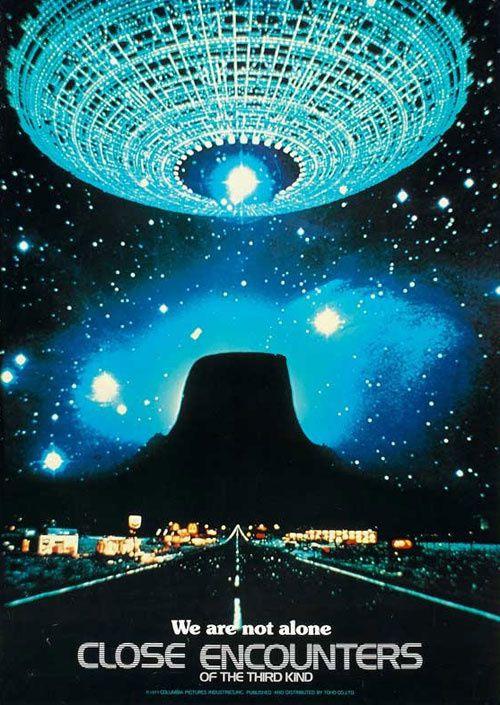 Rencontre Du 3eme Type : rencontre, Rencontre, Troisième, Lumière, Science-fiction, Fantastique