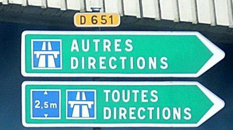 Toutes directions / Autres directions