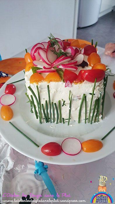 Recette du Sandwich Cake en images