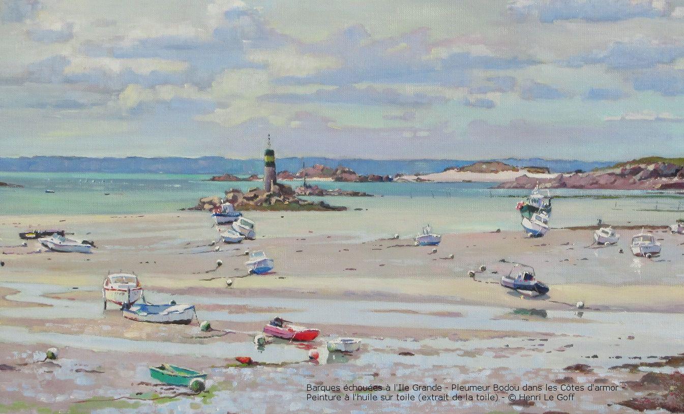 Peinture Bord De Mer Bretagne