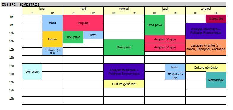 Emploi du temps 20132014  Prpa ENS Sp du lyce La Martinire Duchre  Lyon Formation