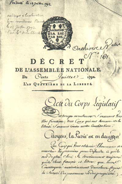 Mantes-la-Jolie sous la Révolution française