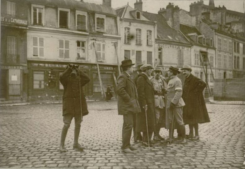 Le 30 octobre 1916 : mission d'académiciens espagnols