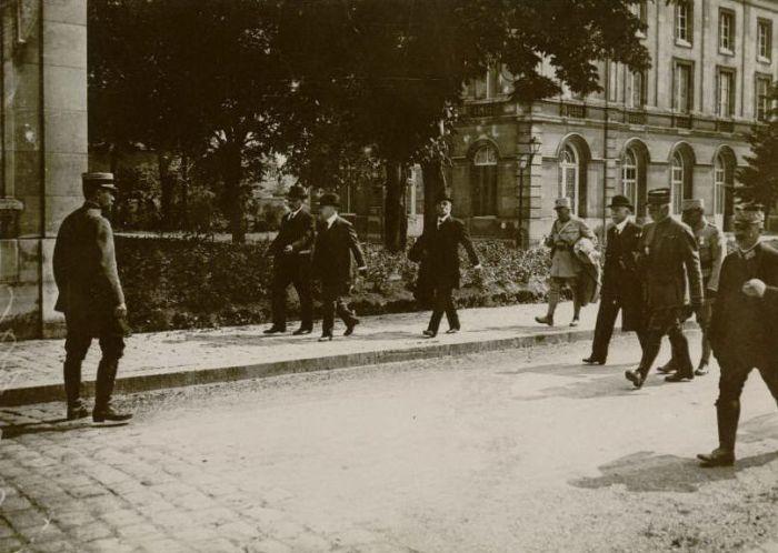 Le 17 juin 1917, visite du président Poincaré