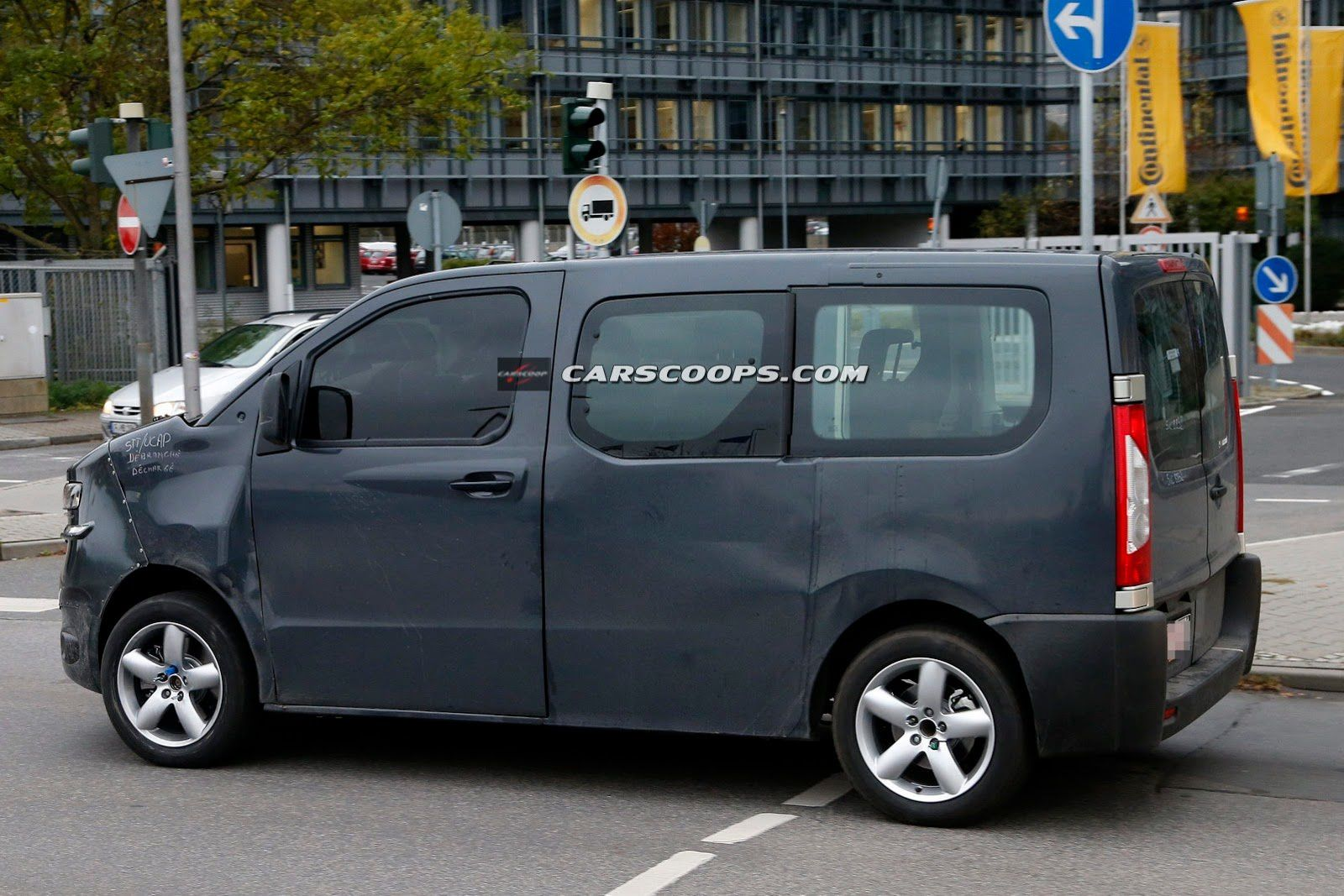 SPIED NEW CITROEN JUMPY FCIA French Cars In America