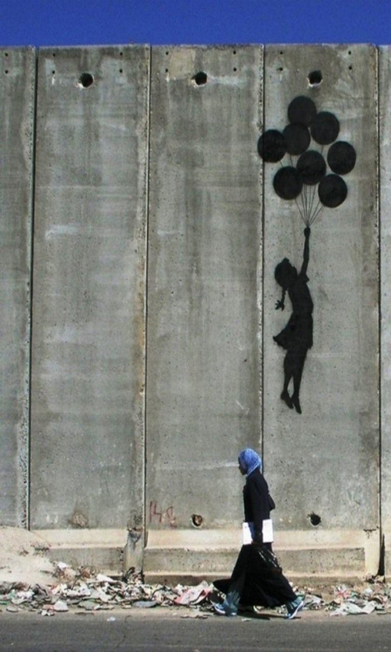 La Petite Fille Au Ballon Analyse : petite, fille, ballon, analyse, L'art, Banksy, Profmichelle