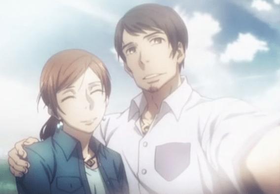 Machiko et son mari (dont on ne connaît pas le nom)