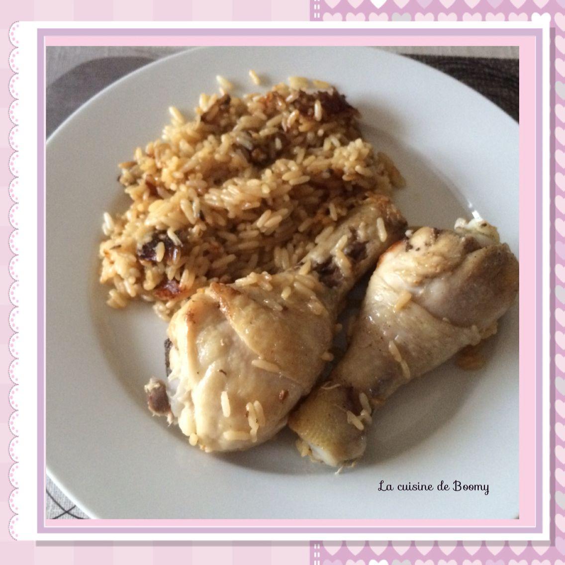 pilons de poulet au riz cookeo la