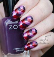 fishtail braid manicure