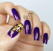 crown nail art design feat. cirque