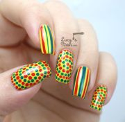 bring summer fun nail art
