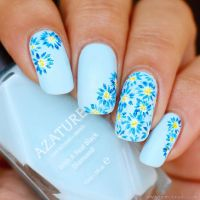 Guest Post: Floral Nail Art from Atima aka Nails by Nemo ...