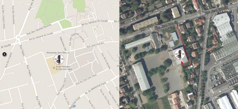 Gymnase des Basses Roches, rue Jean Broutin 78700 Conflans Sainte Honorine