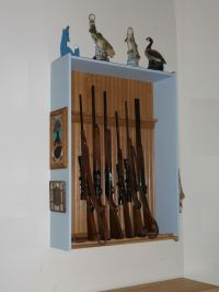 Easy Gun Cabinet Plans, woodworking hobby ideas, Sofa ...