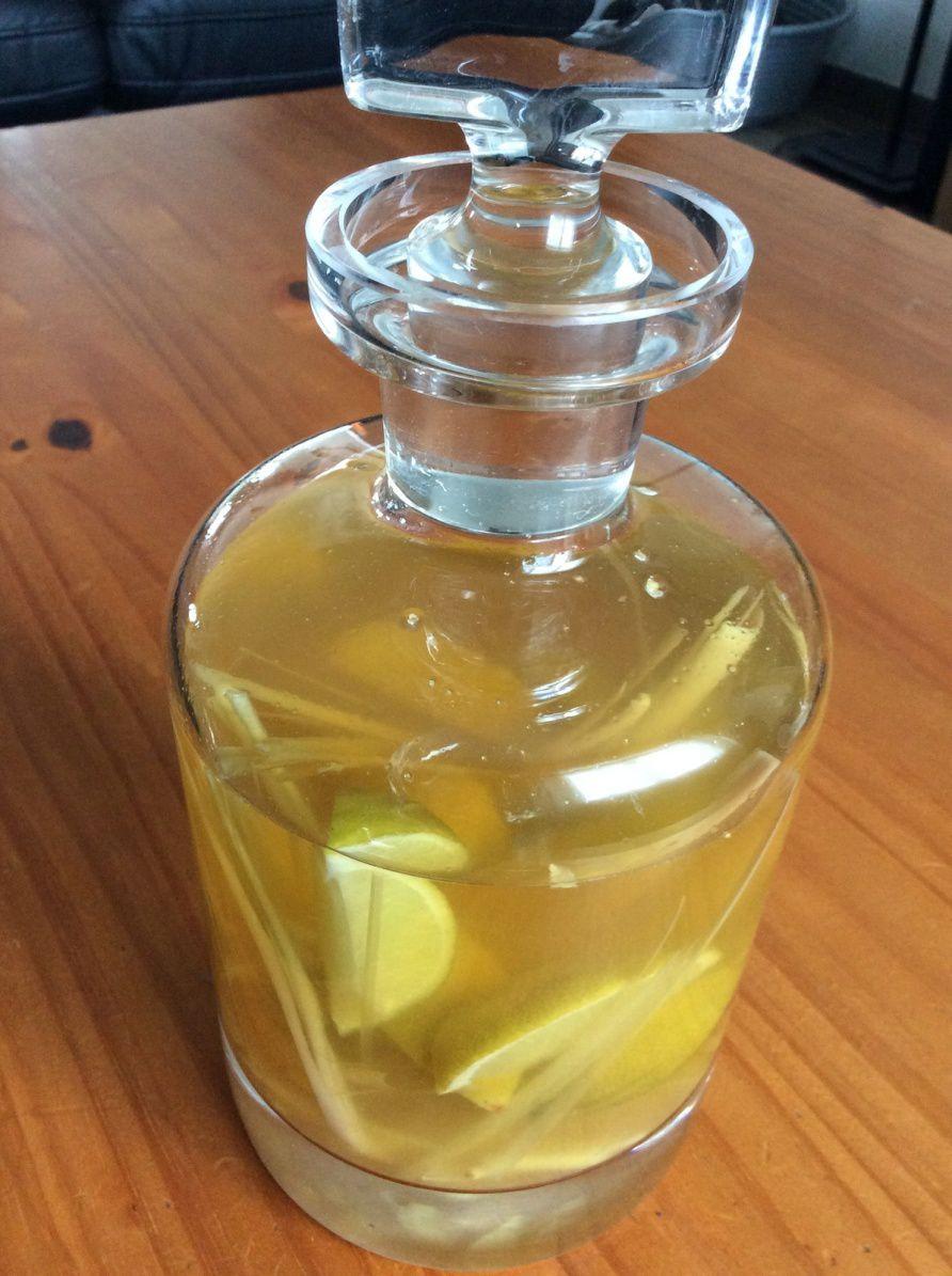 citronnelle gingembre citron vert