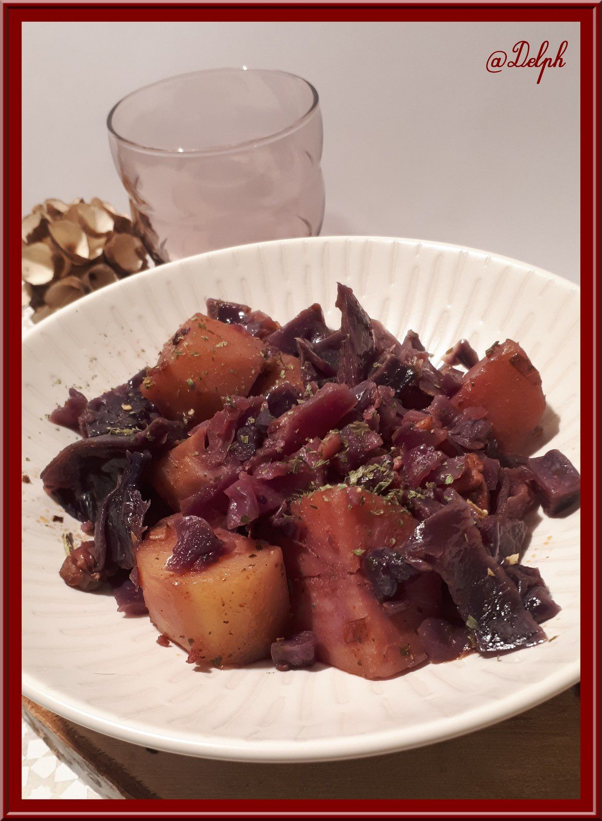 Recette Chou Rouge Lardons Pommes De Terre : recette, rouge, lardons, pommes, terre, Rouge,, Pommes, Terre, Lardons, Cookéo, Gourmande..