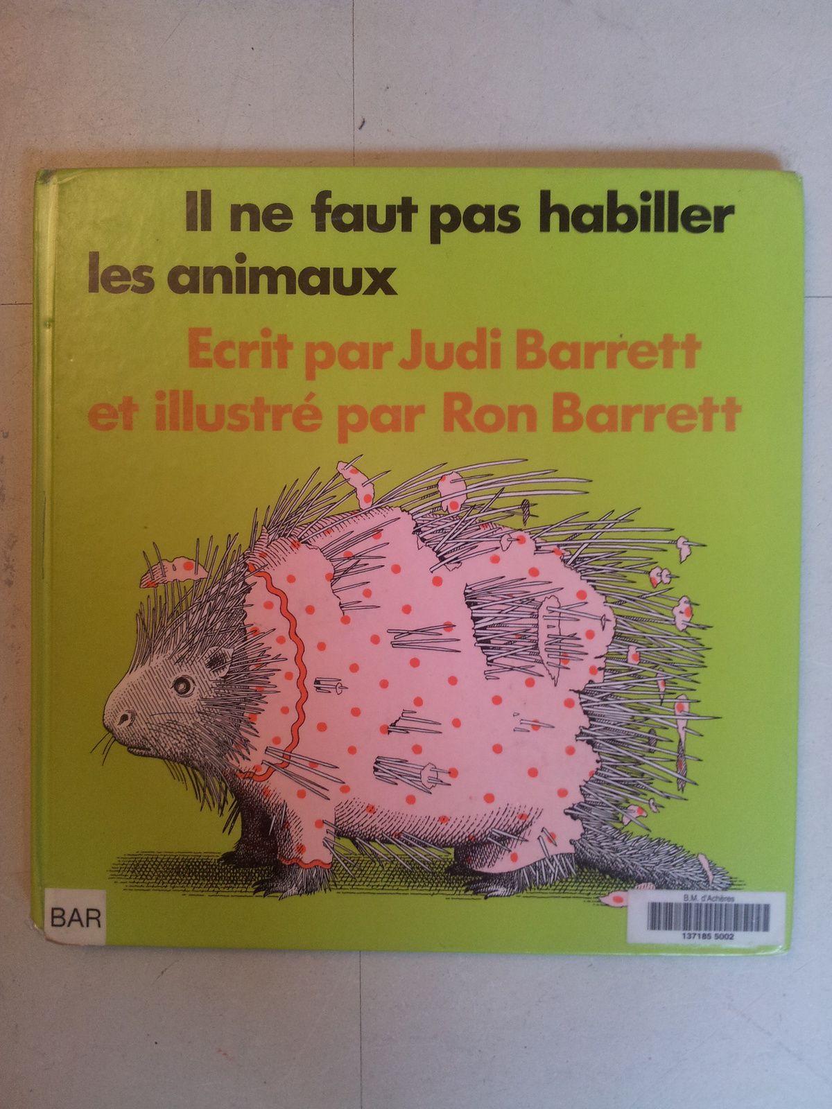 Il Ne Faut Pas Habiller Les Animaux : habiller, animaux, Habiller, Animaux., Barret, (dès, VIVRELIVRE