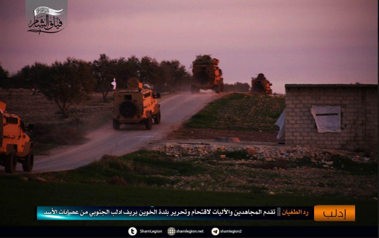 Syrie - Erdogan change (encore) de camp - et délivre du nouveau matériel militaire pour les attaques terroristes (Moon of Alabama)