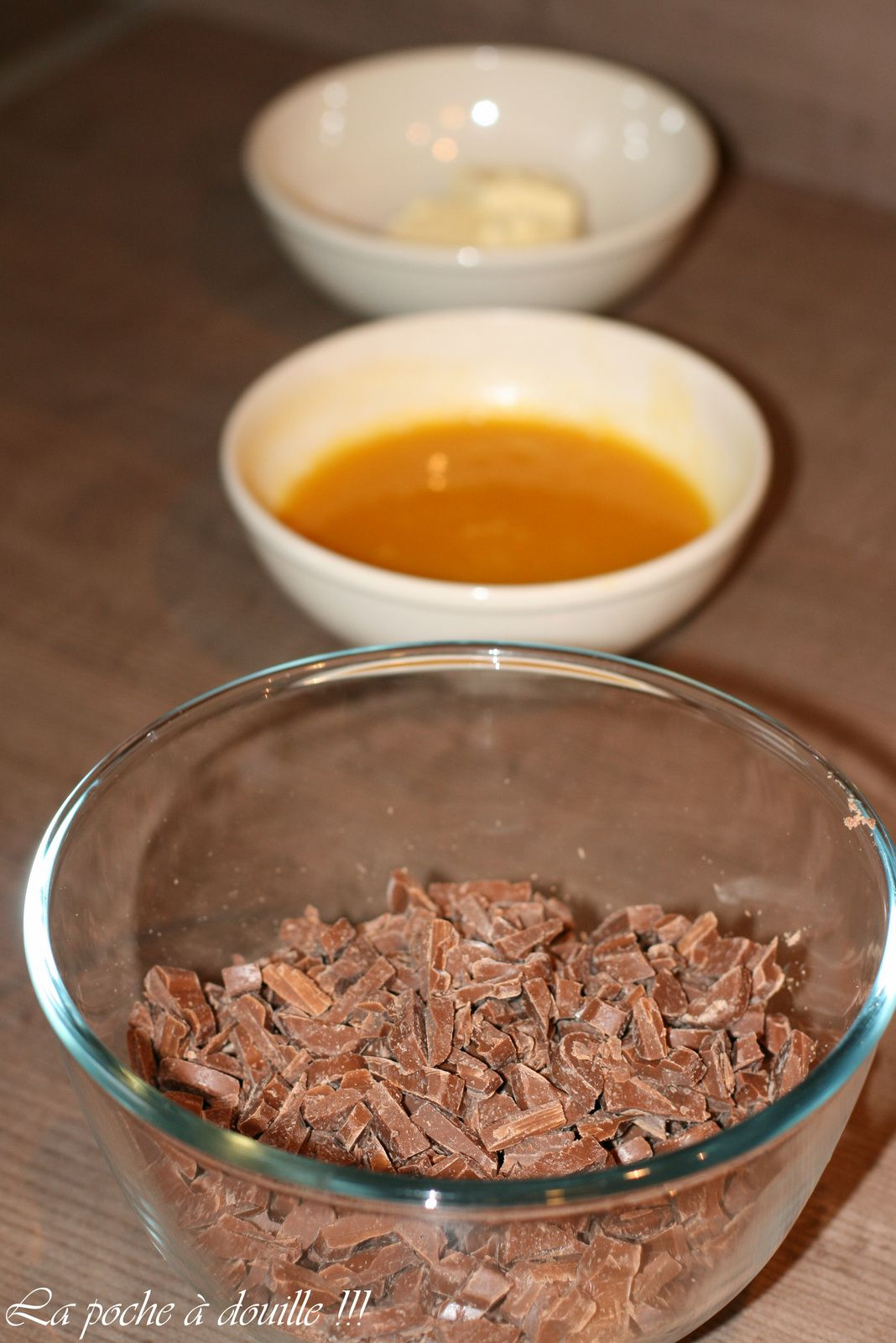 Macaron Chocolat Mangue Passion