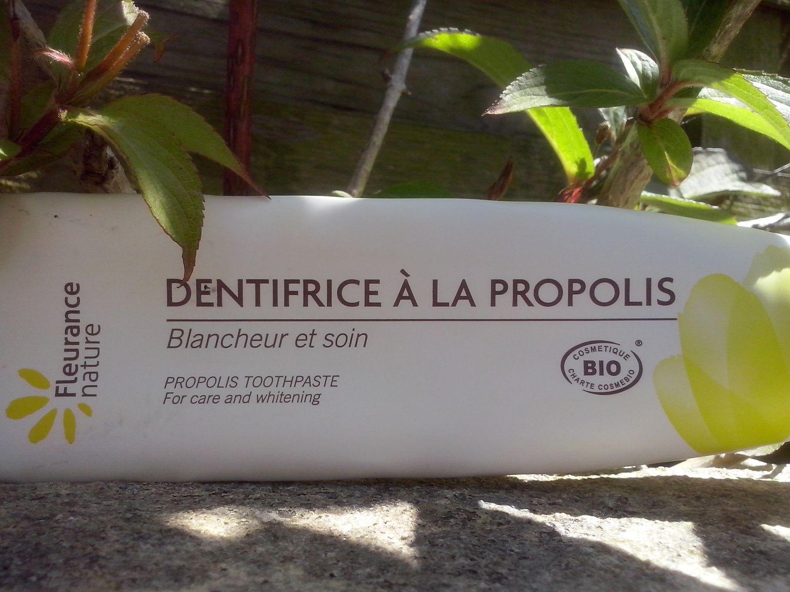 tube dentifrice propolis fleurance nature