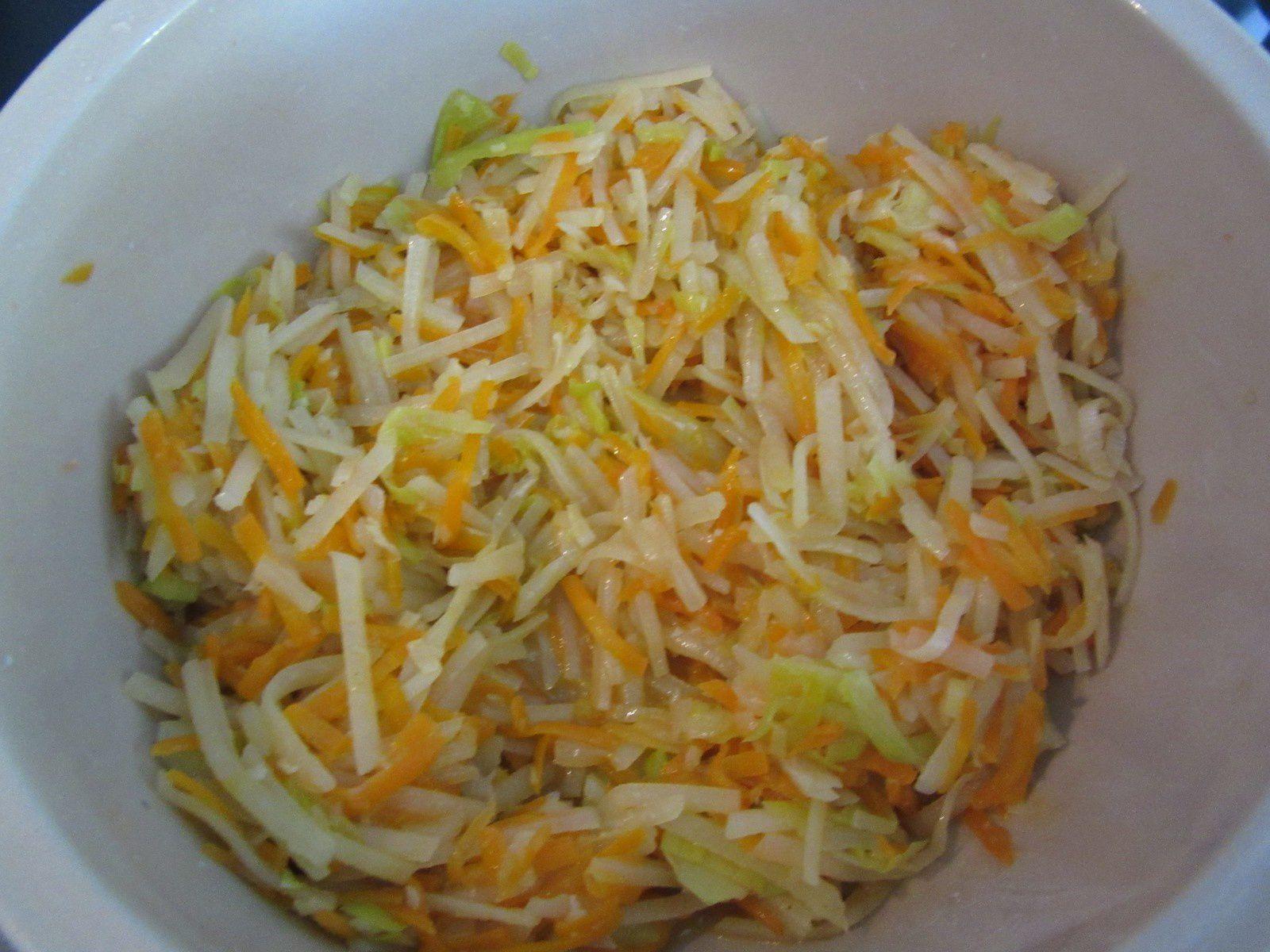 recette julienne de legumes au