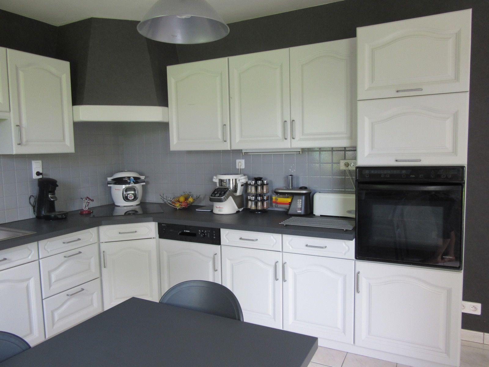Frais bricolage peinture ch ne armoires de cuisine blanc for Appareil de cuisine