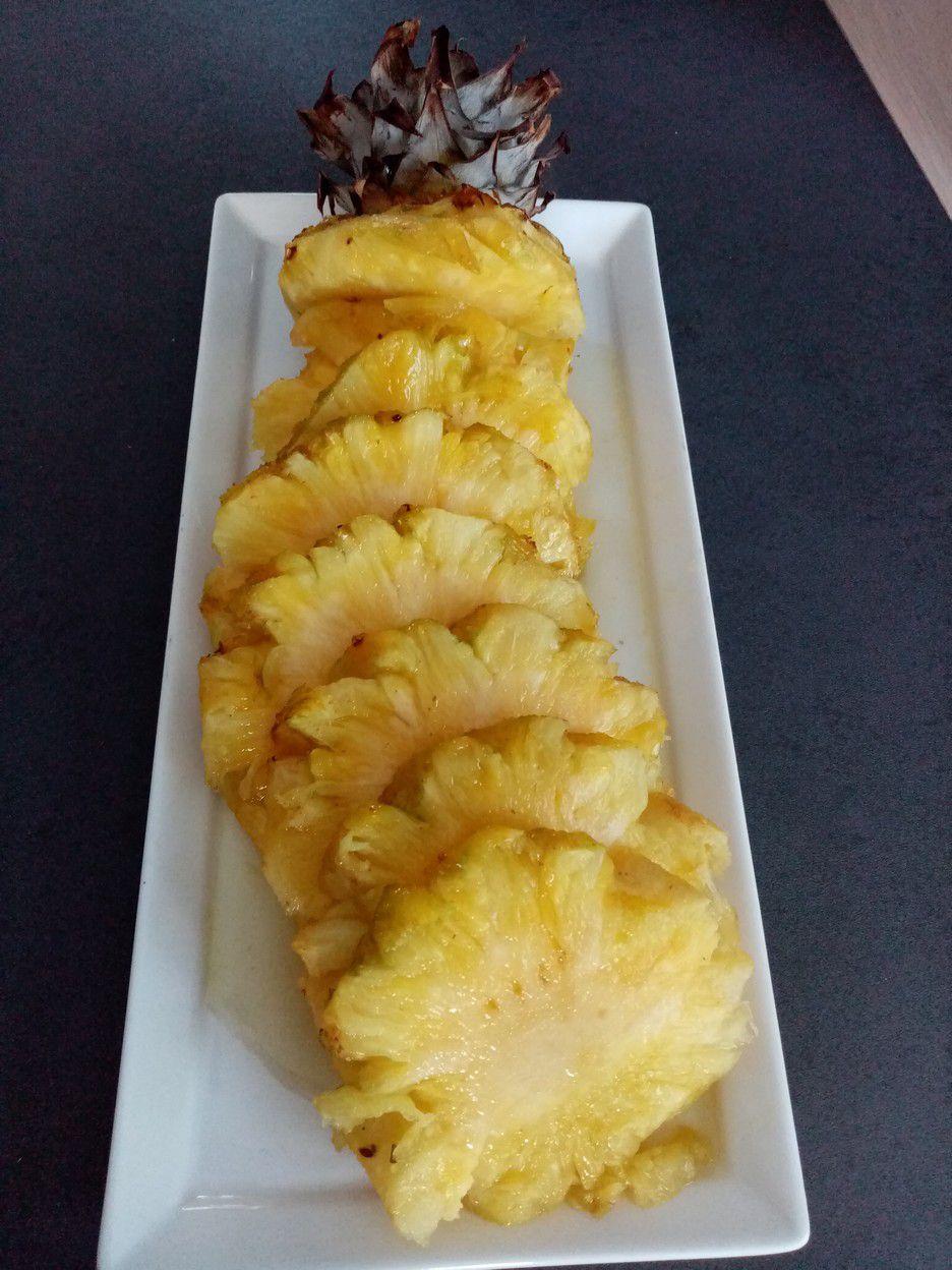 Ananas Roti Au Four : ananas, Ananas, Confit, Cyril, Lignac, Cuisine, Meilleures, Recettes, Faciles