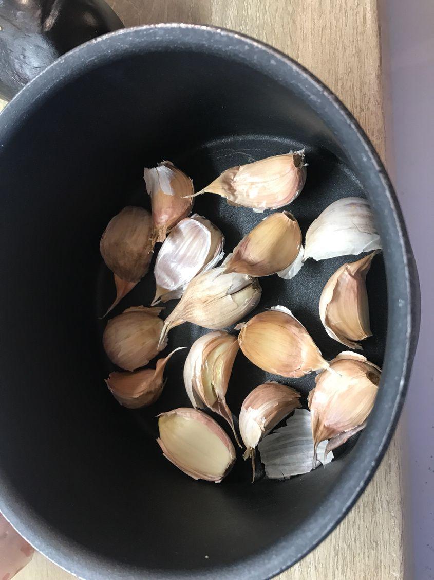 Chemise (ail en) - Glossaire culinaire   Académie du Goût