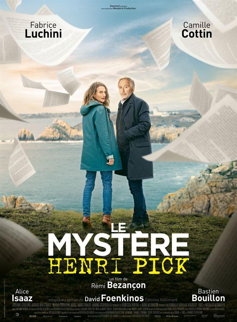 Le mystère Henri Pick de Rémi Bezançon - (2019) - Comédie