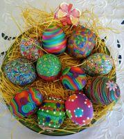 Les stars de Pâques, ce sont les oeufs !!