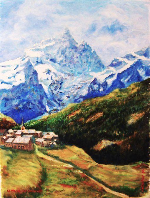 Dessiner Un Paysage En Perspective : dessiner, paysage, perspective, PERSPECTIVE, ATMOSPHERIQUE, BASES, DESSIN, Peinture